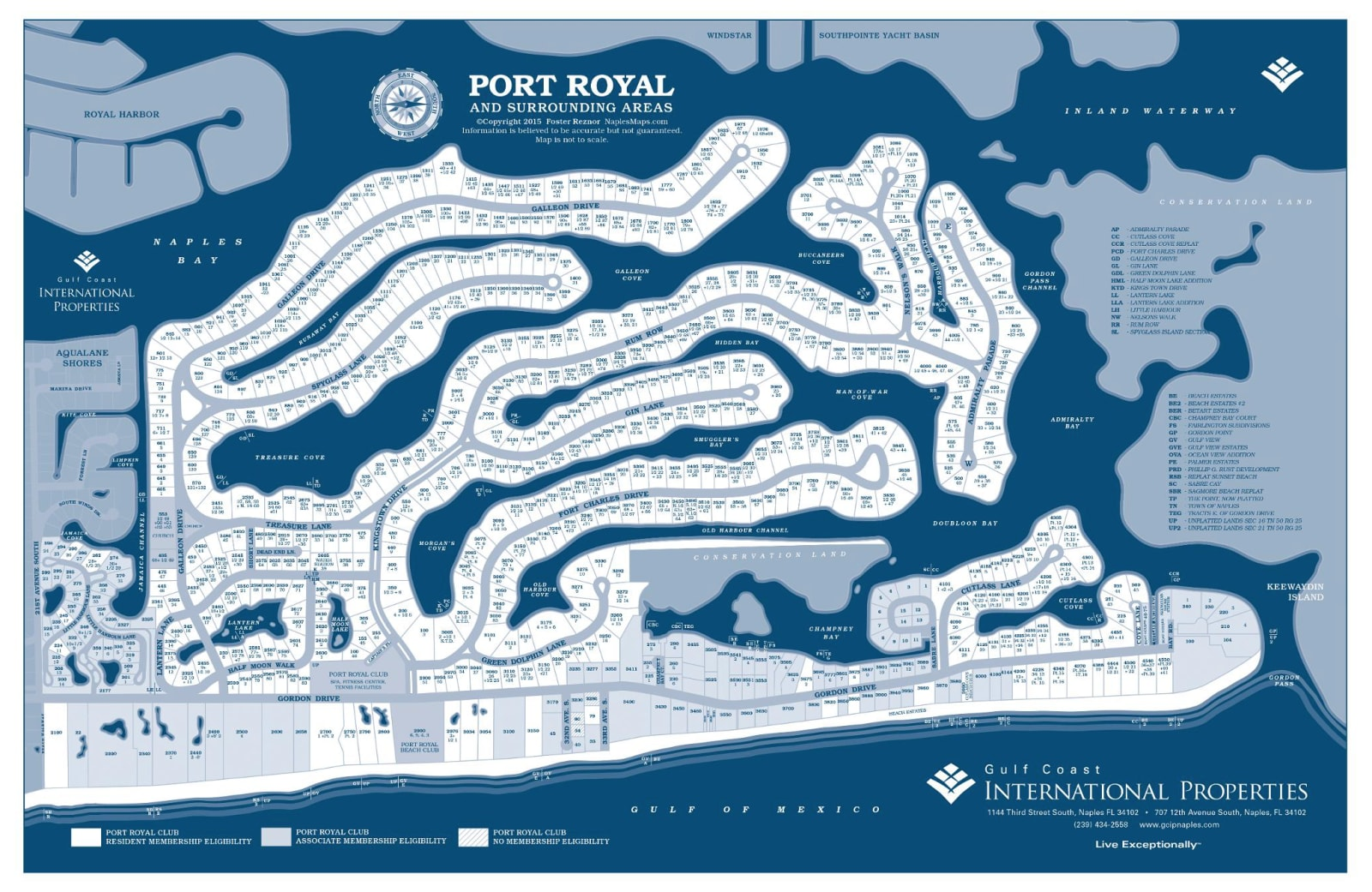 Port Royal Map