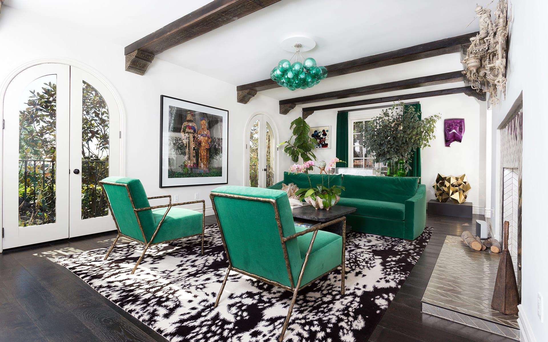 Eensgezinswoning voor Verkoop een t 8213 Monteel Rd 8213 Monteel Rd Los Angeles, Californië,90069 Verenigde Staten