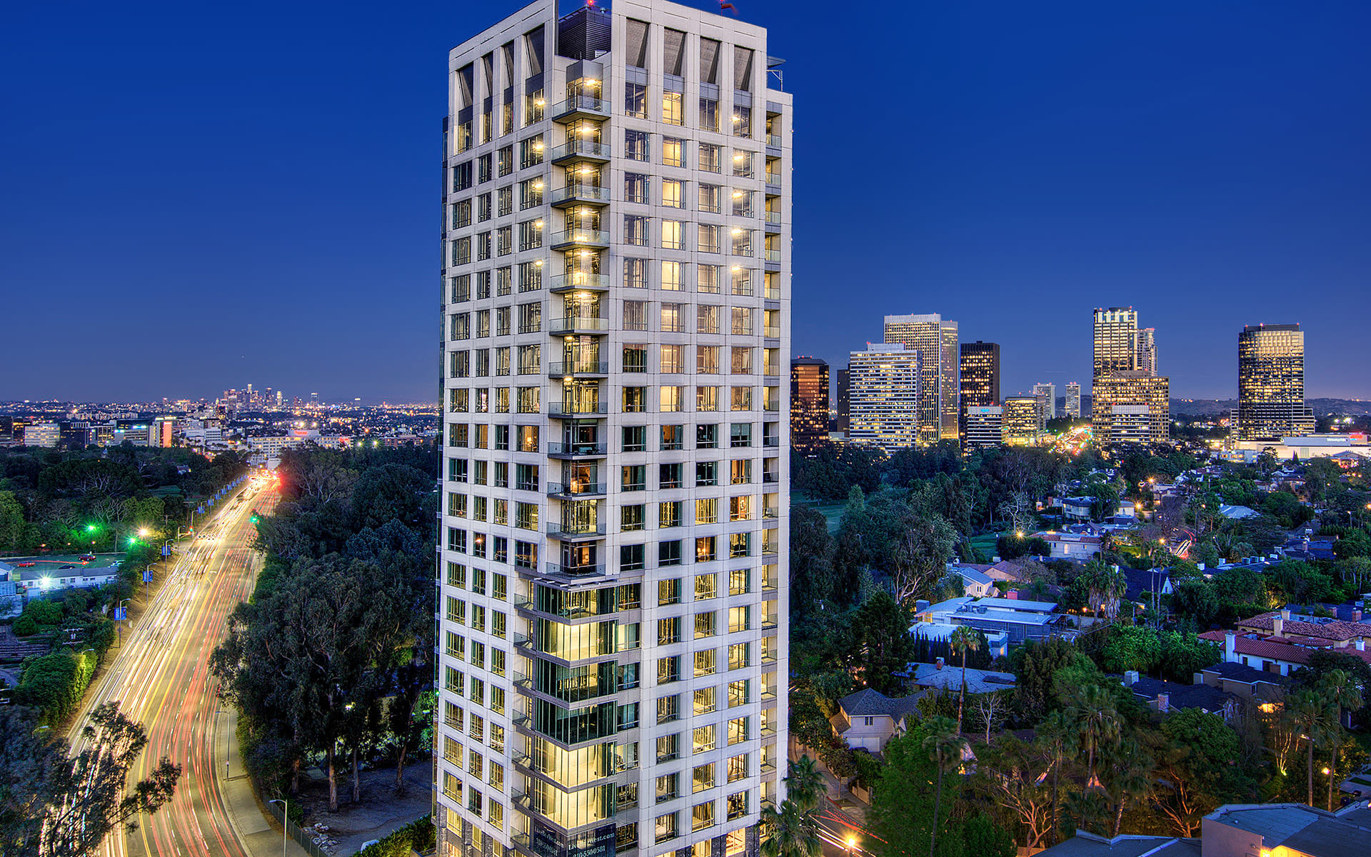Copropriété pour l Vente à 1200 Club View Dr #1001 1200 Club View Dr #1001 Los Angeles, Californie,90024 États-Unis