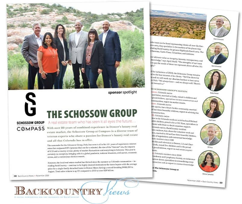 Highlands Ranch BackCountry - Schossow Group real estate