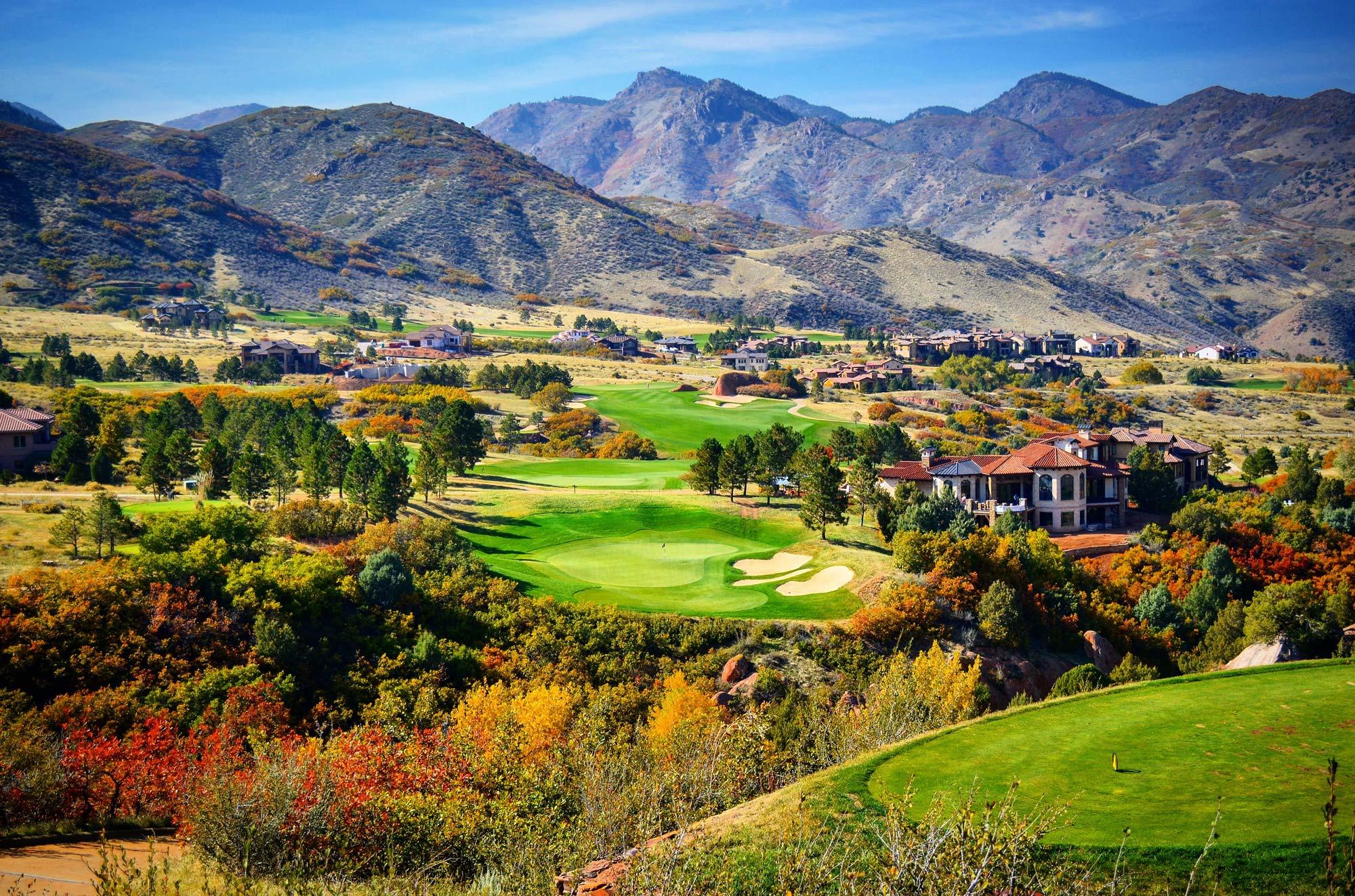 Ravenna Golf, Colorado - Hole #16