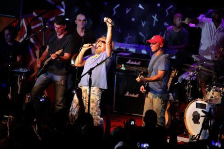 Sammy Hagar performs at Cabo Wabo Cantina
