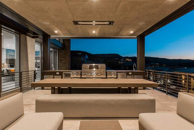 Outdoor kitchens a must for luxury homes