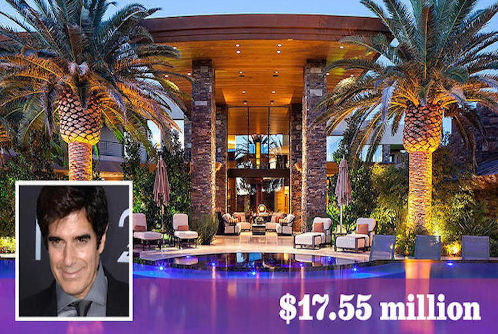 Presto! David Copperfield Sets Las Vegas Record with $17.55M Home Purchase