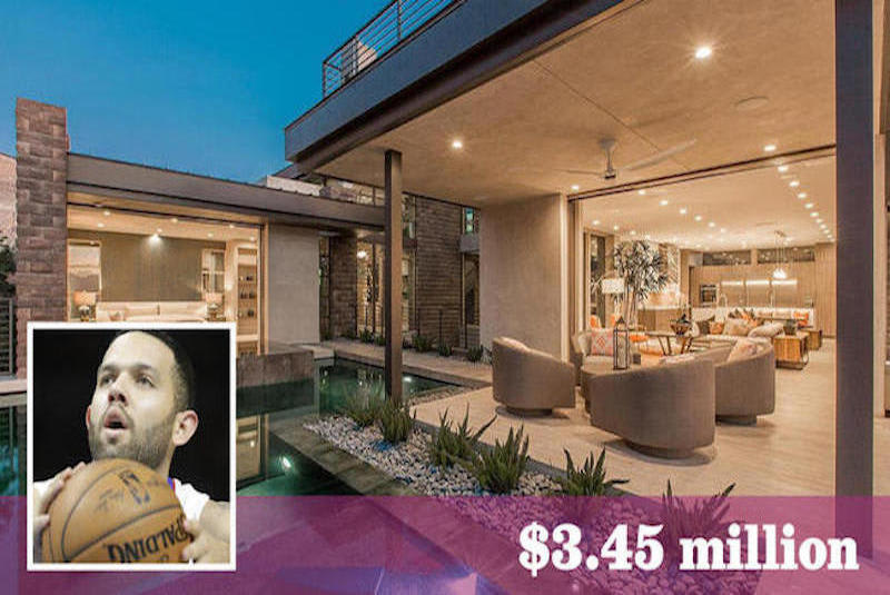 Former Laker Jordan Farmar Sells Green Home in Las Vegas for $3.45 Million