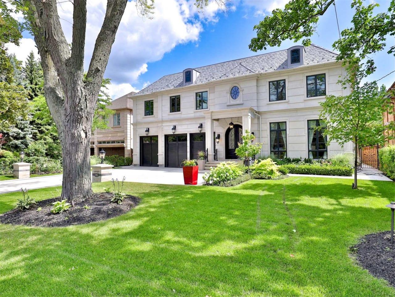Opulent Limestone York Mills Estate