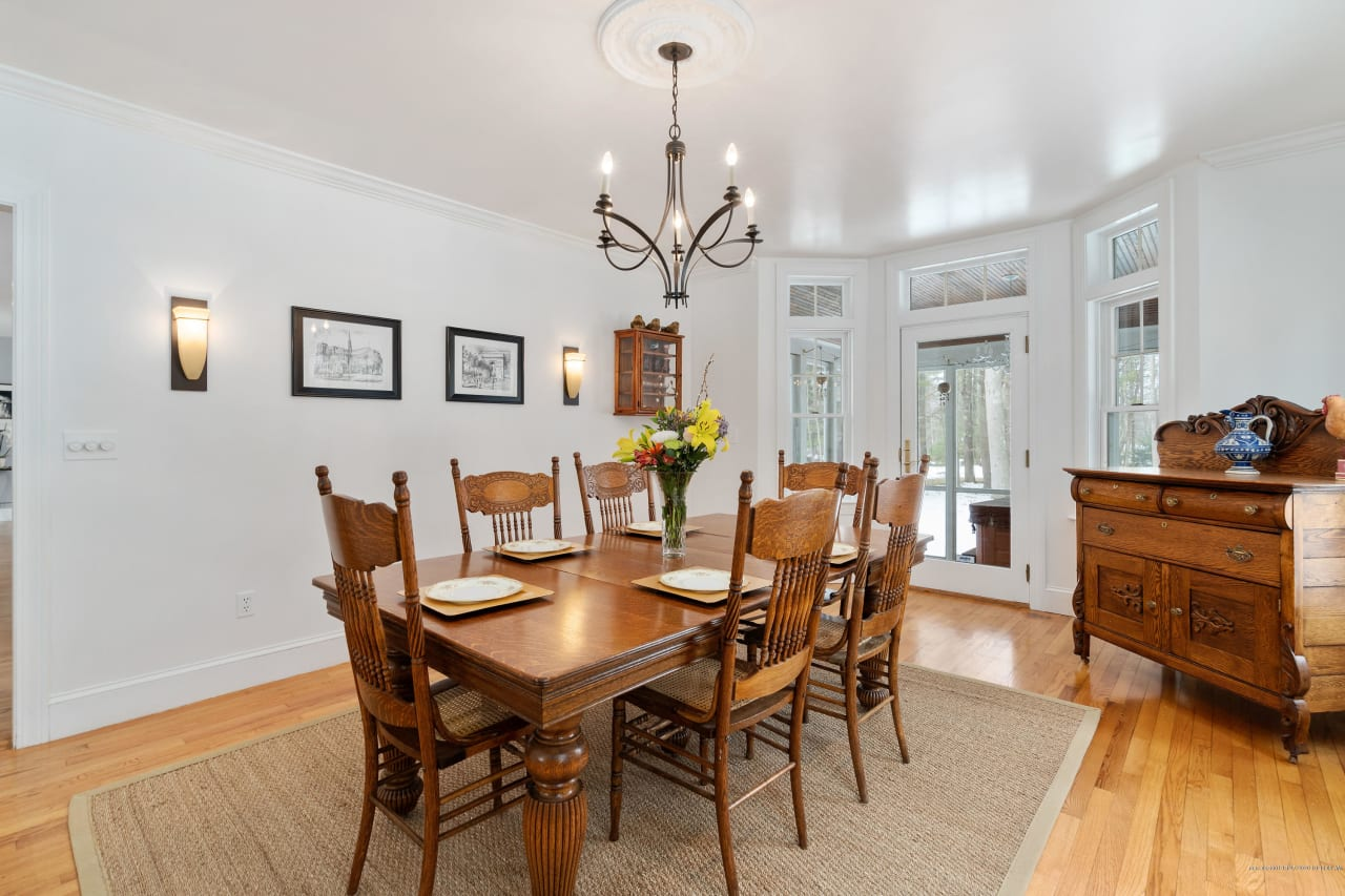 Colonial Home at Falmouth Country Club's 2nd Hole!