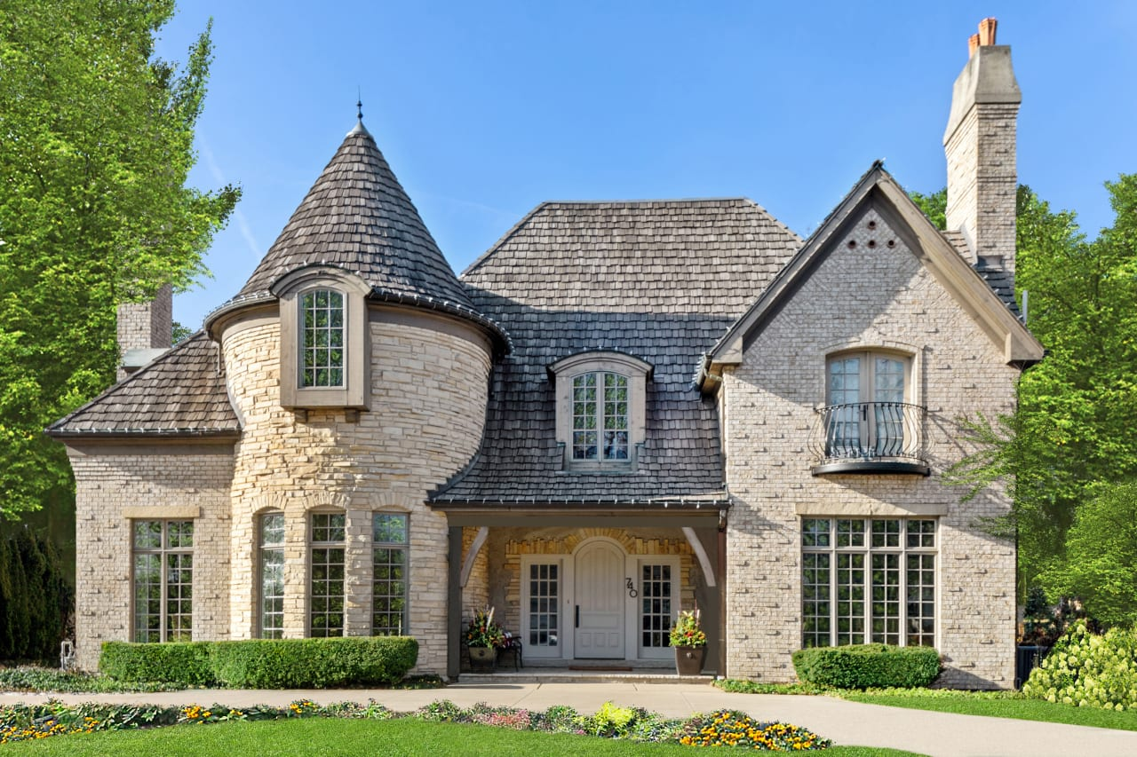 Refined Curbside Appeal and Meticulously Designed Interior