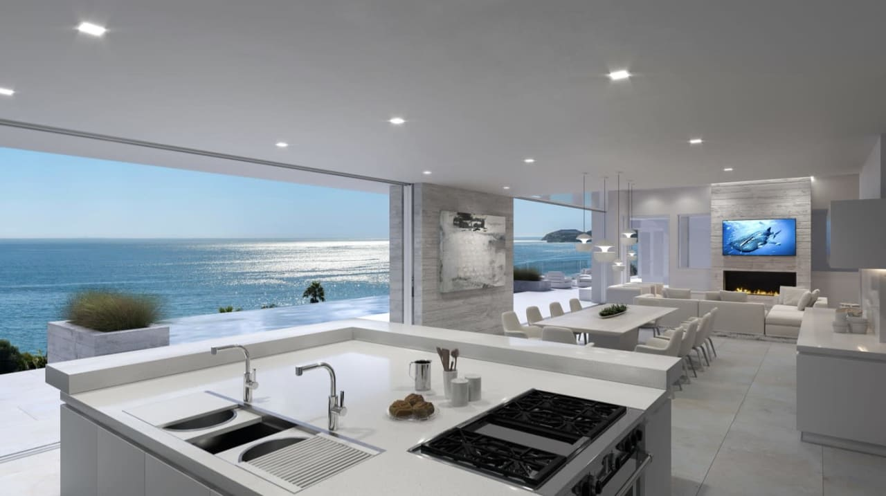 Green Stamped Plans in Malibu