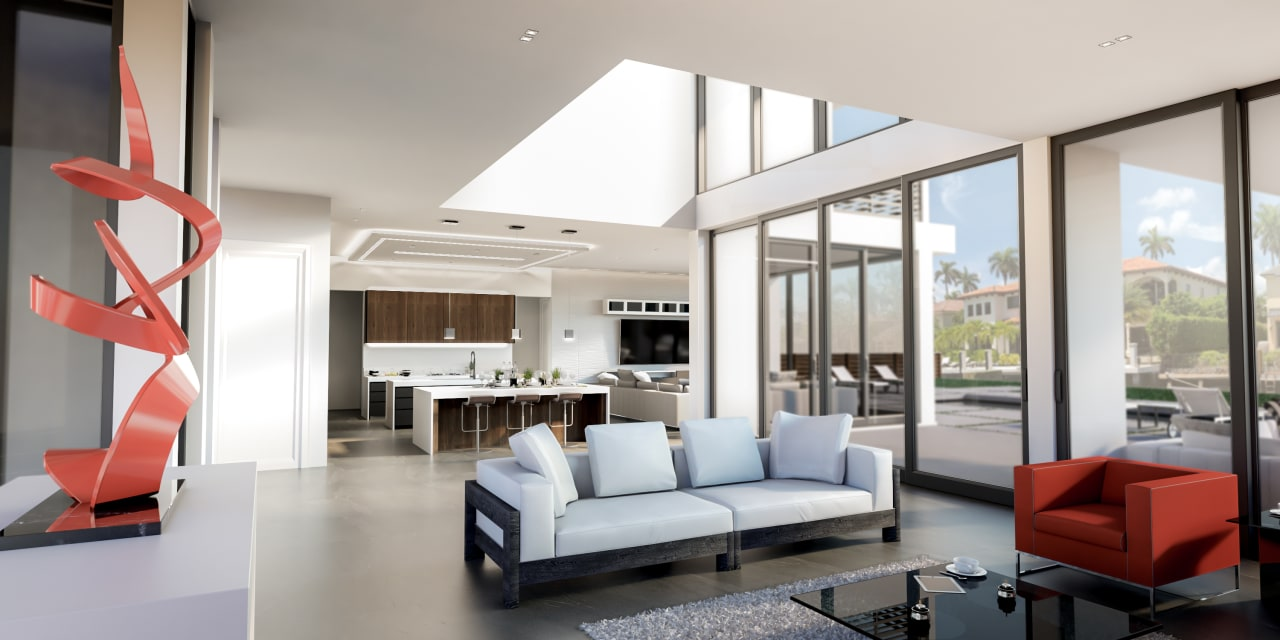 Brand New Contemporary Estate