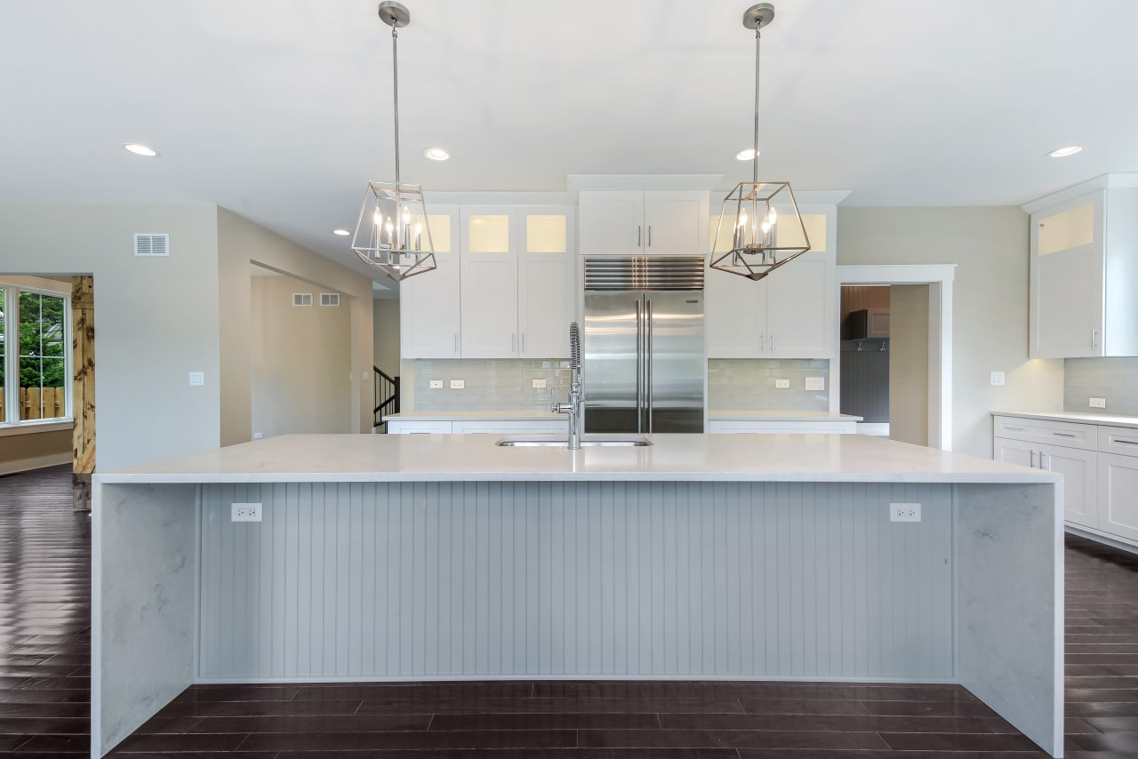 New construction that exudes glamour