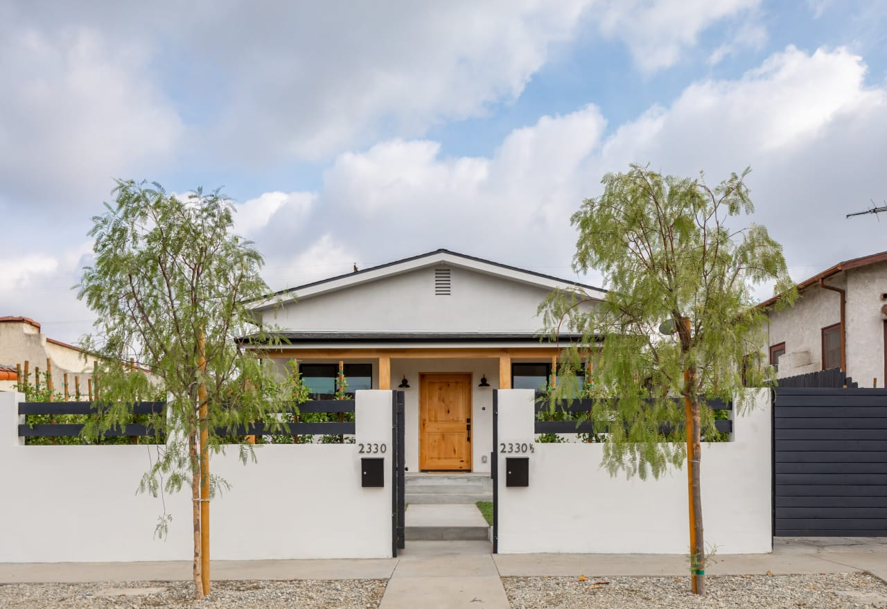 A modern compound in Creative Frogtown