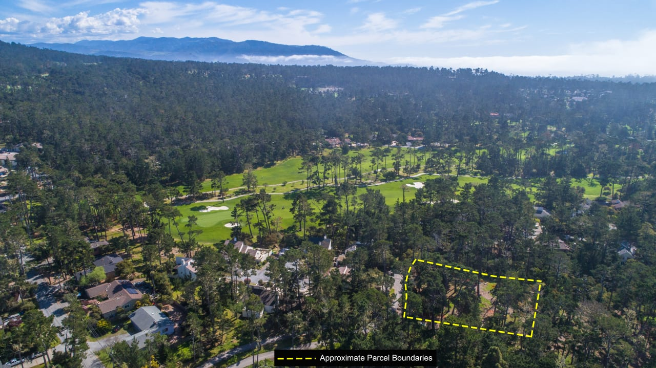 Pebble Beach Dream Home - Lot with Plans - SOLD