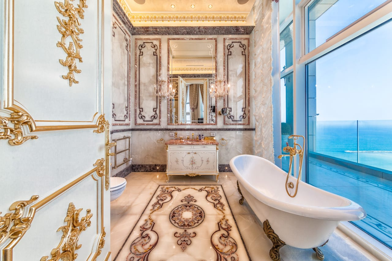 Refined Seafront Baroque Style Penthouse