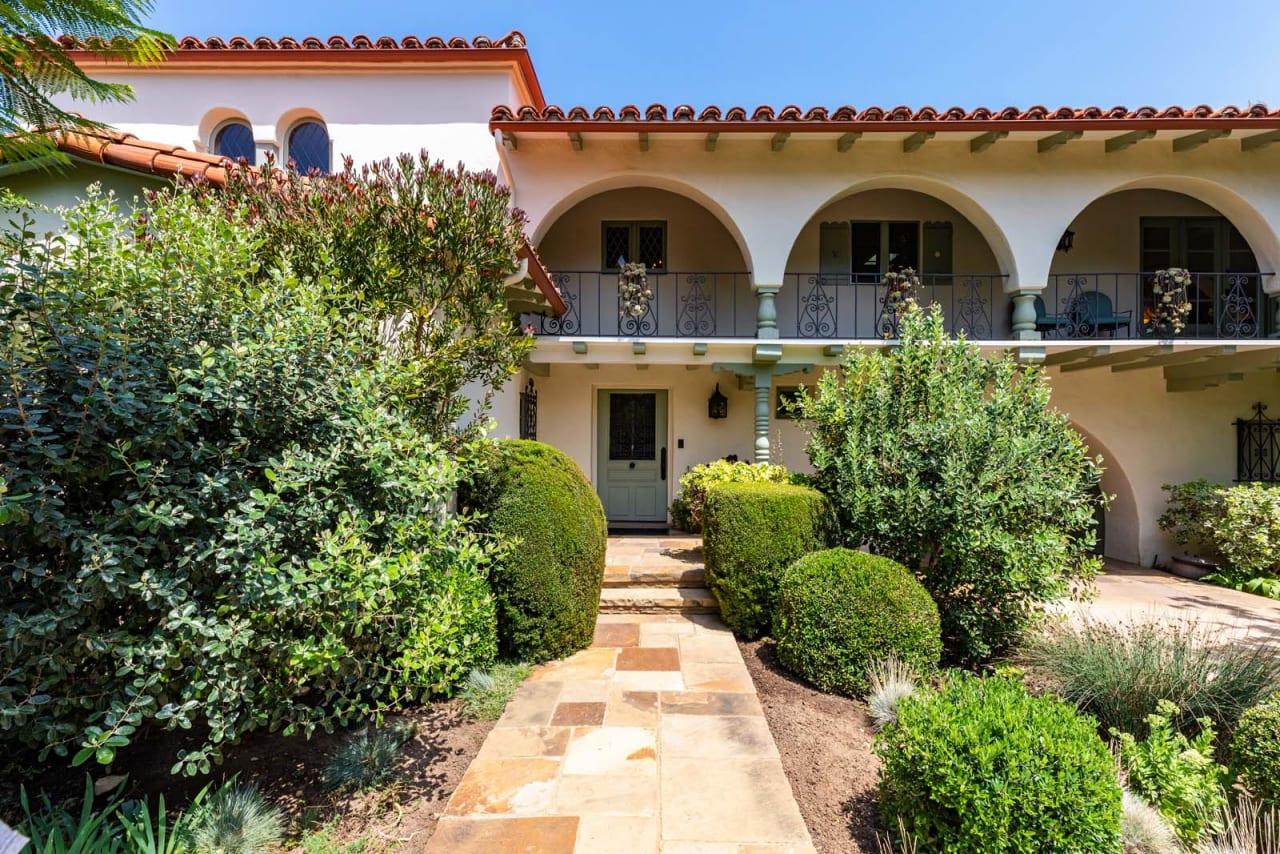 Exceptional Spanish in Coveted Palisades Riviera