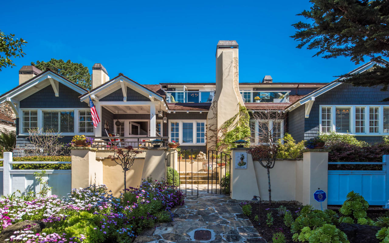 Iconic Carmel Estate by the Sea