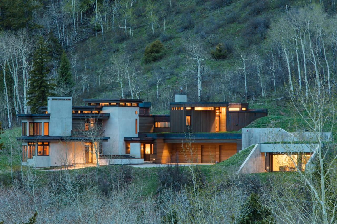 Modern Castle Creek Residence