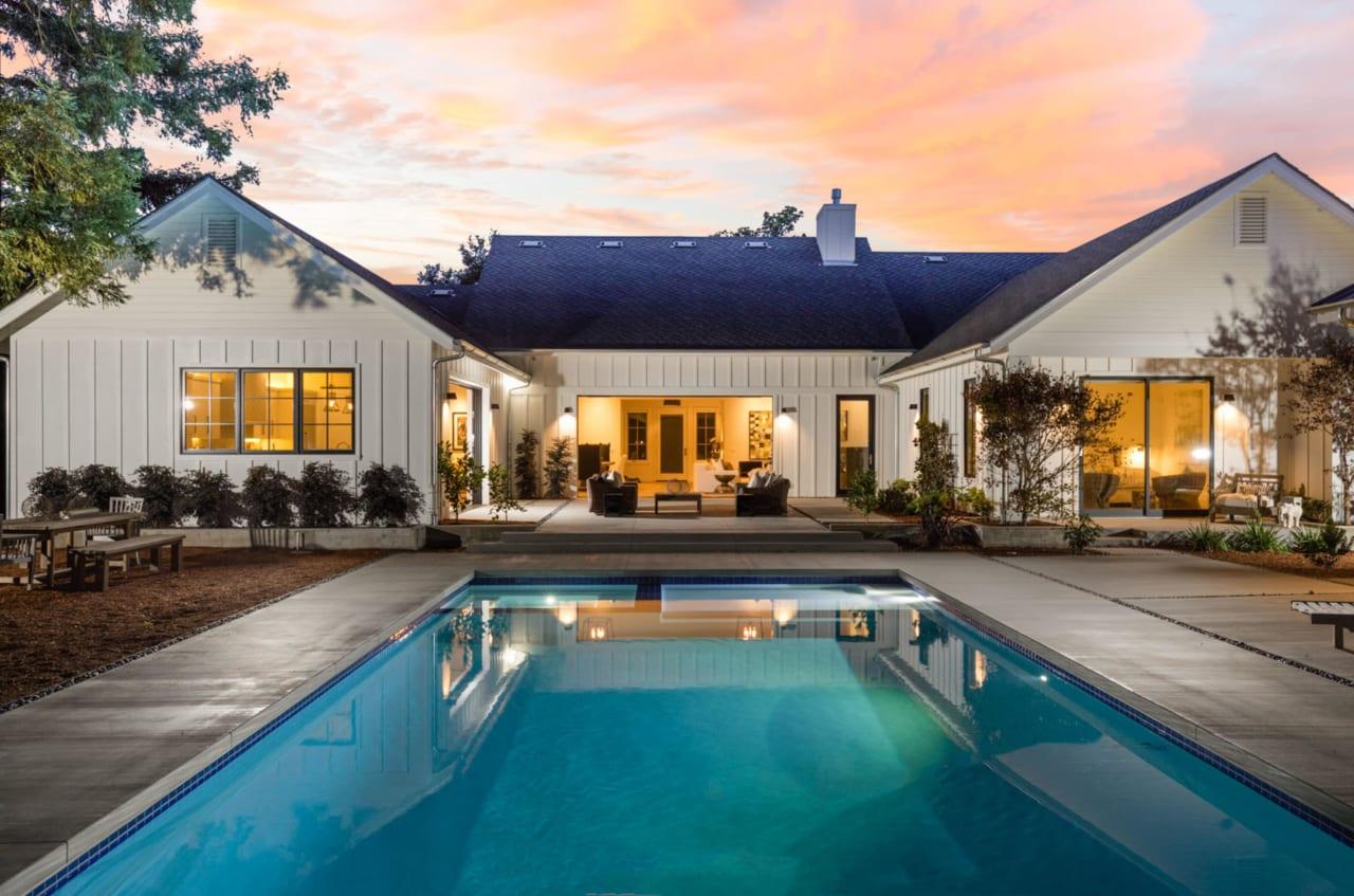 Property Feature: Modern Farmhouse Retreat
