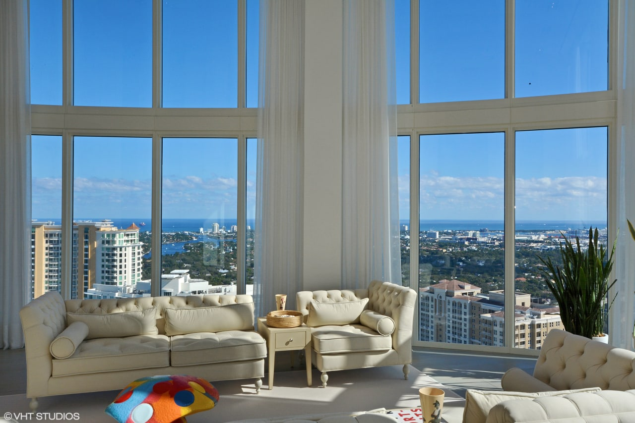 One of a Kind Penthouse at the Las Olas River House