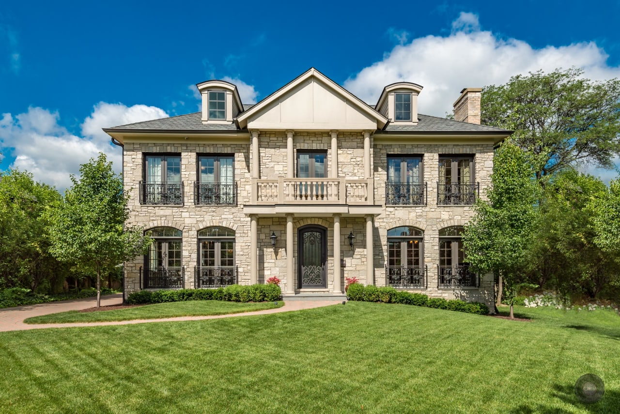This Like New home sitting on almost a Half Acre Lot Is Stunning