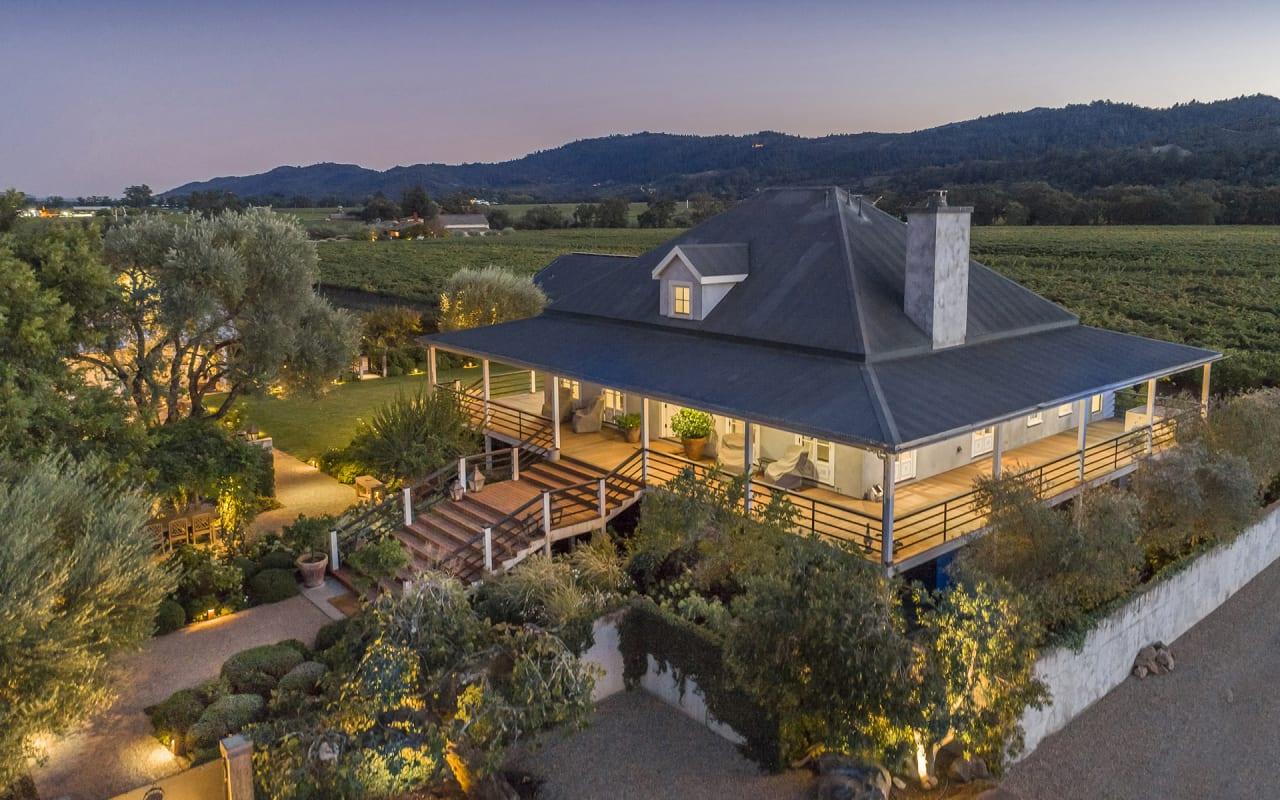 California Home + Design Features Napa Property