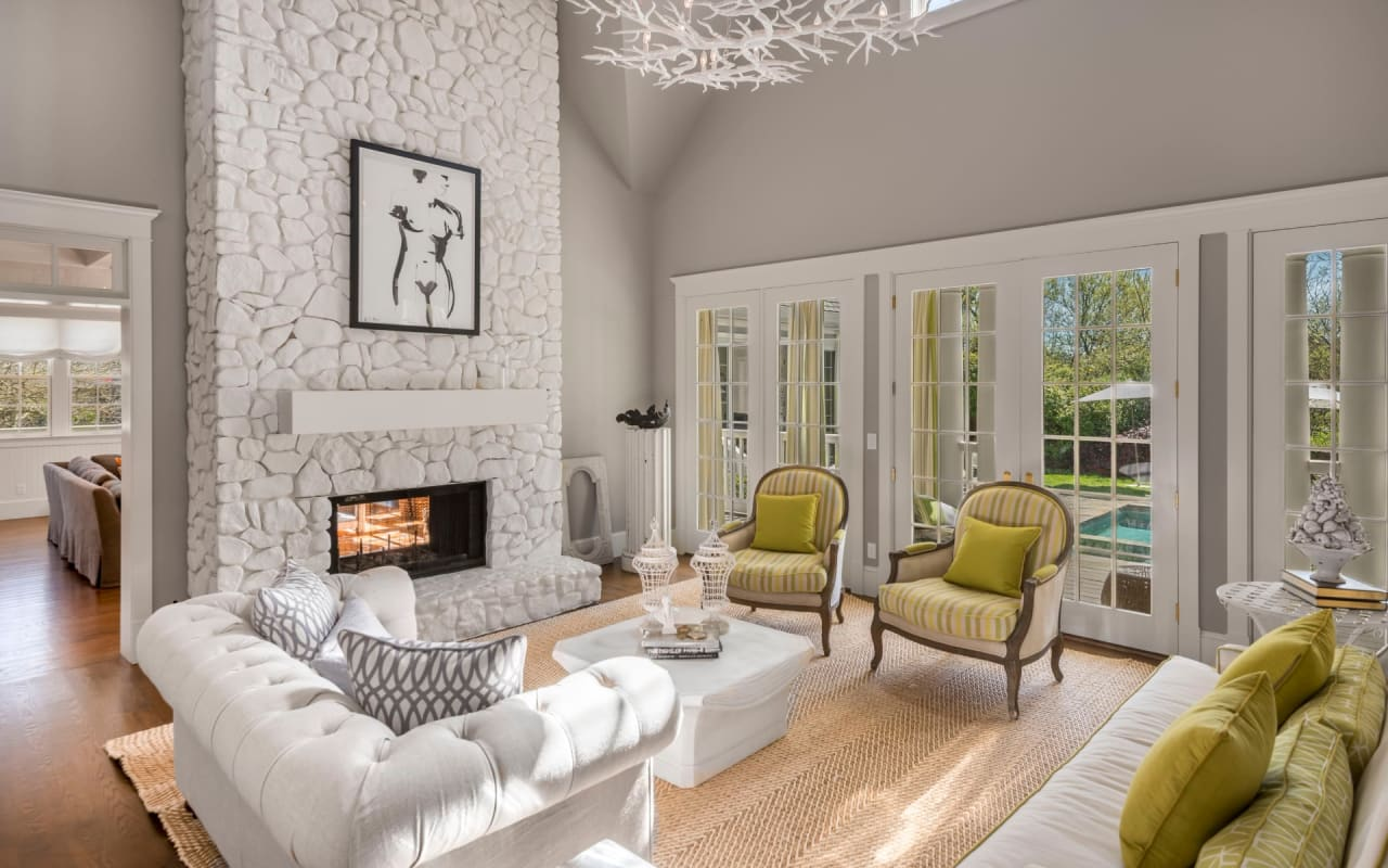 Homes With Luxurious Fireplaces to Warm Your Heart