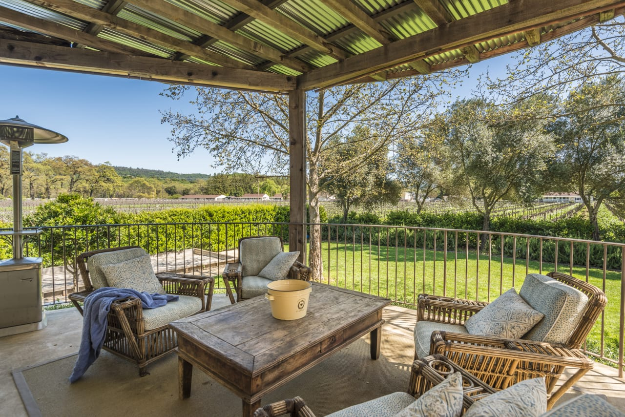 Sold   Modern French Inspired Wine Country Estate