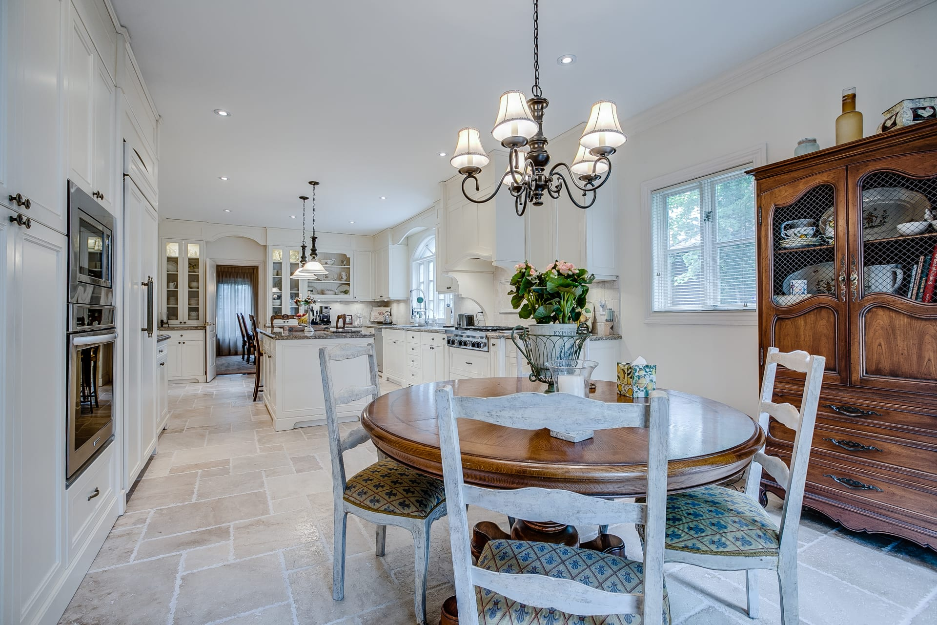 French Country Bayview Village Residence