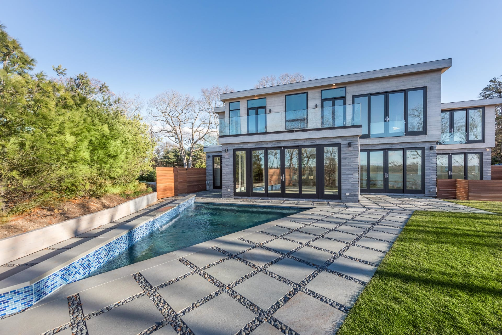 Waterfront Modern New Construction