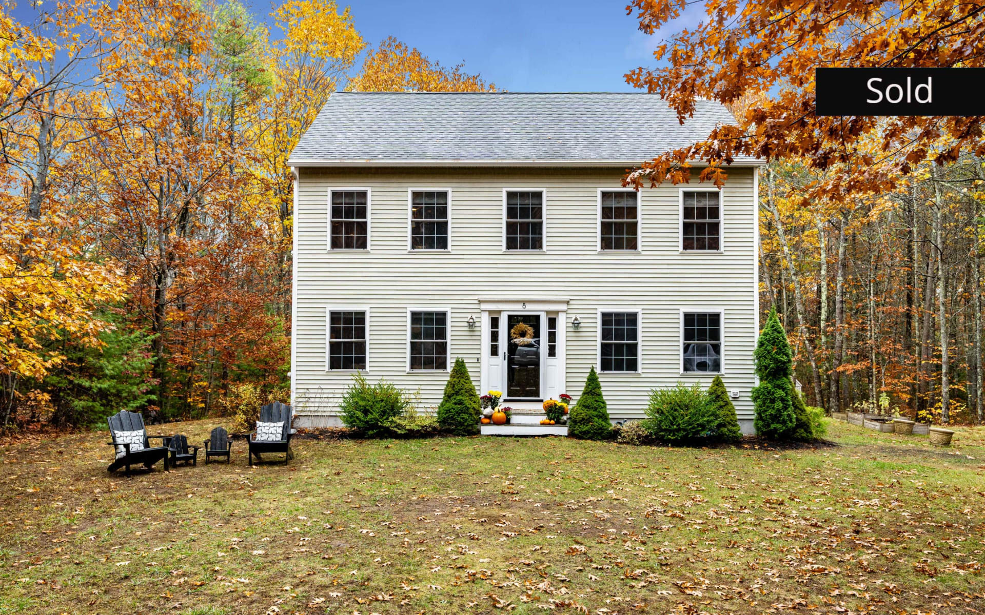 Contemporary Colonial with modern flair in Falmouth!