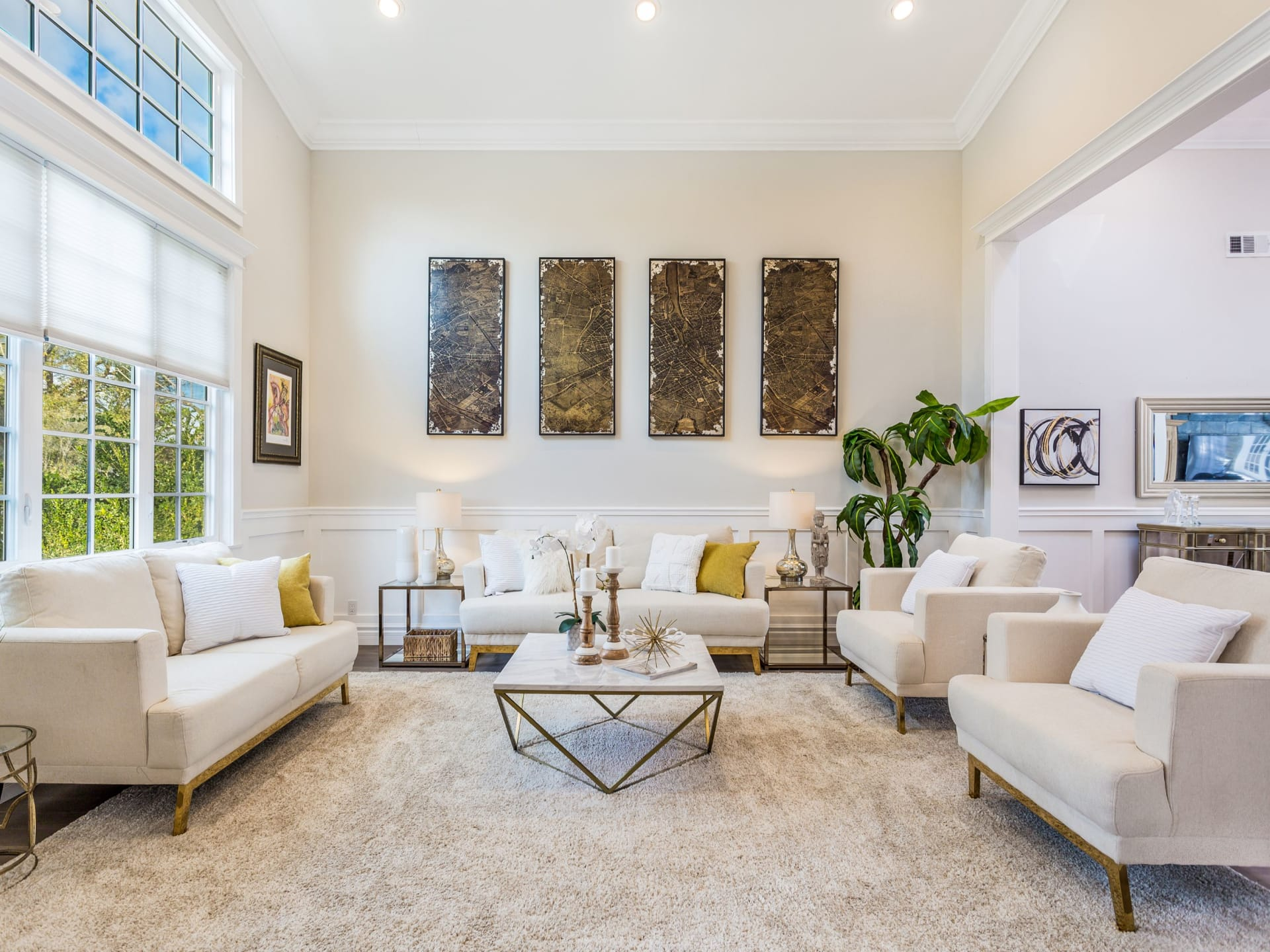 Dramatic and Expansive Single Story Home South of the Blvd