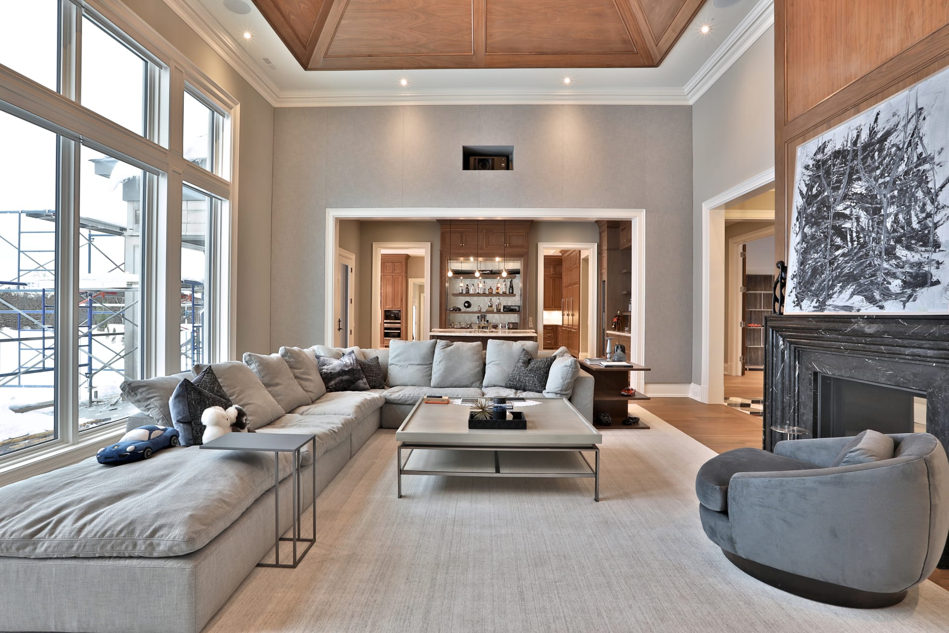 Architecturally Significant Sprawling Custom Residence