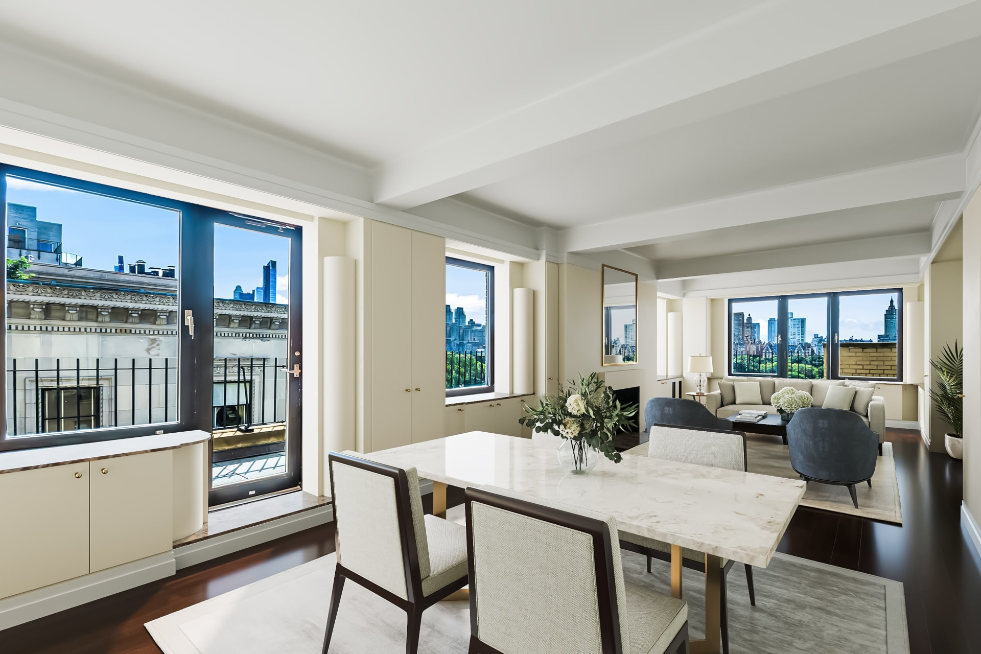 Luxurious Wraparound Terrace on Central Park!