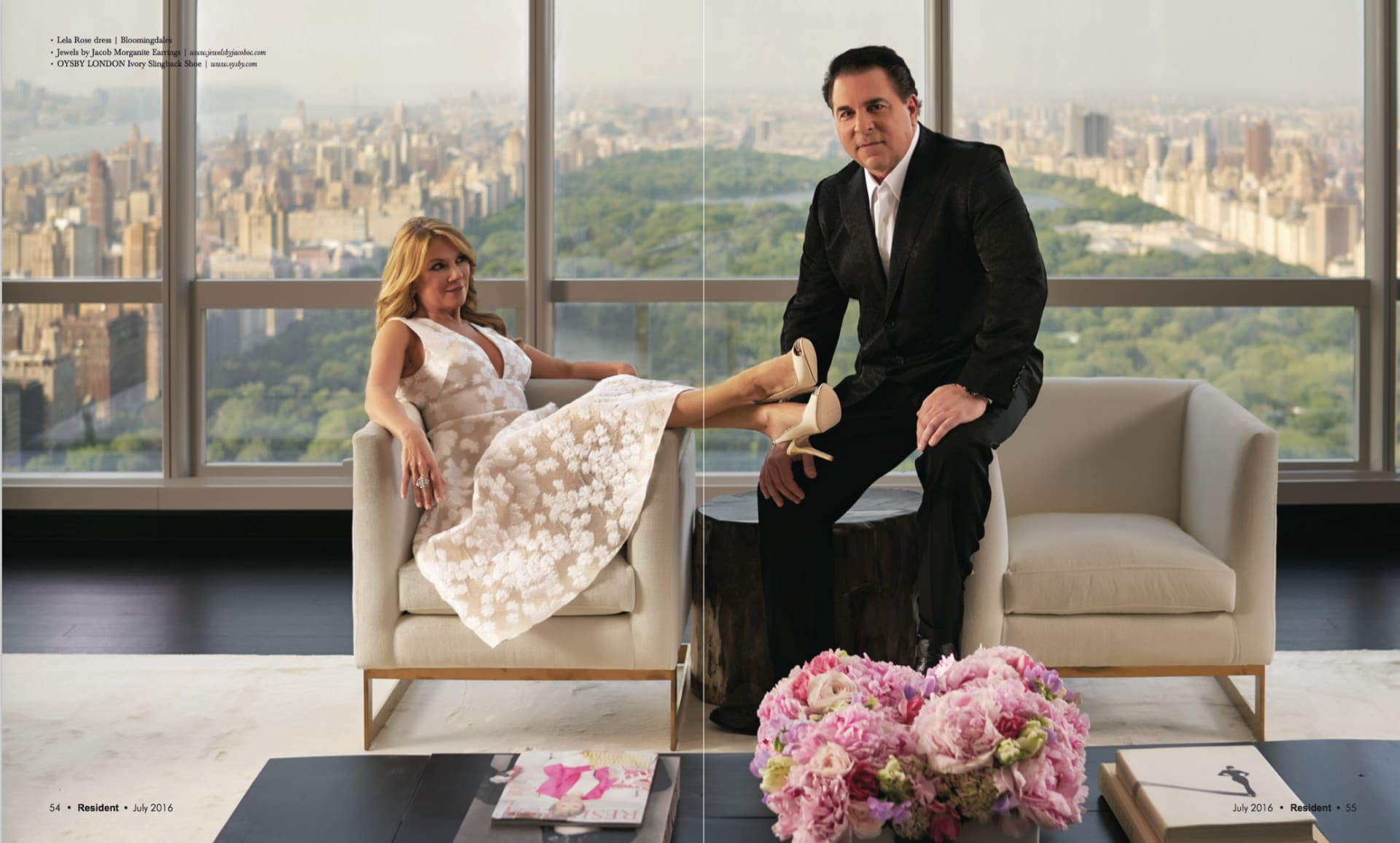 Resident Magazine Shoots at Noble's Iconic One57 Listing
