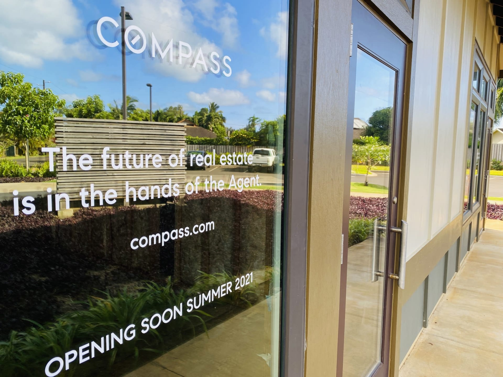 """""""Coming Soon"""" Compass Office in Kilauea Town"""