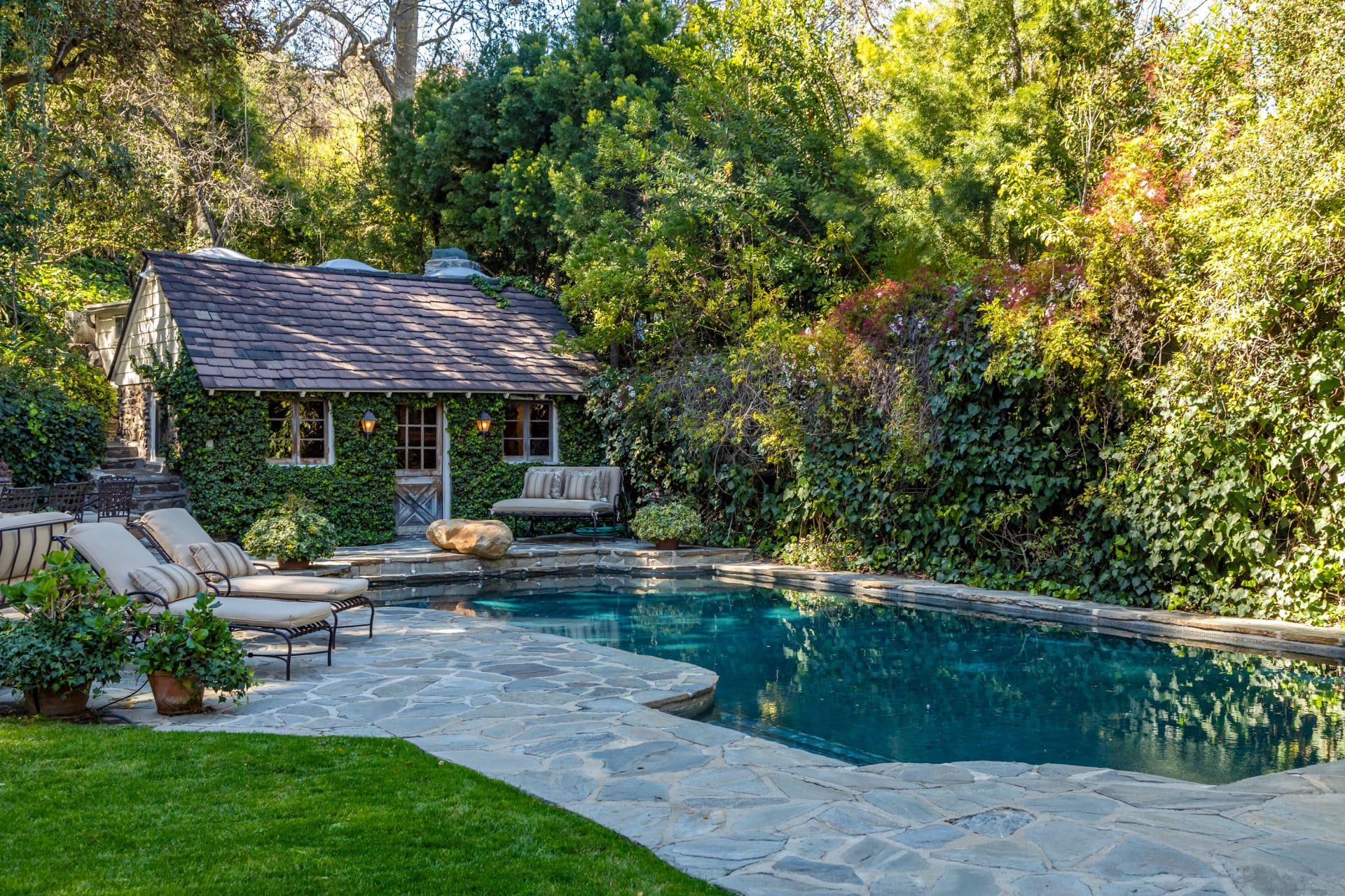 Fabled Compound in Exquisite Garden Setting