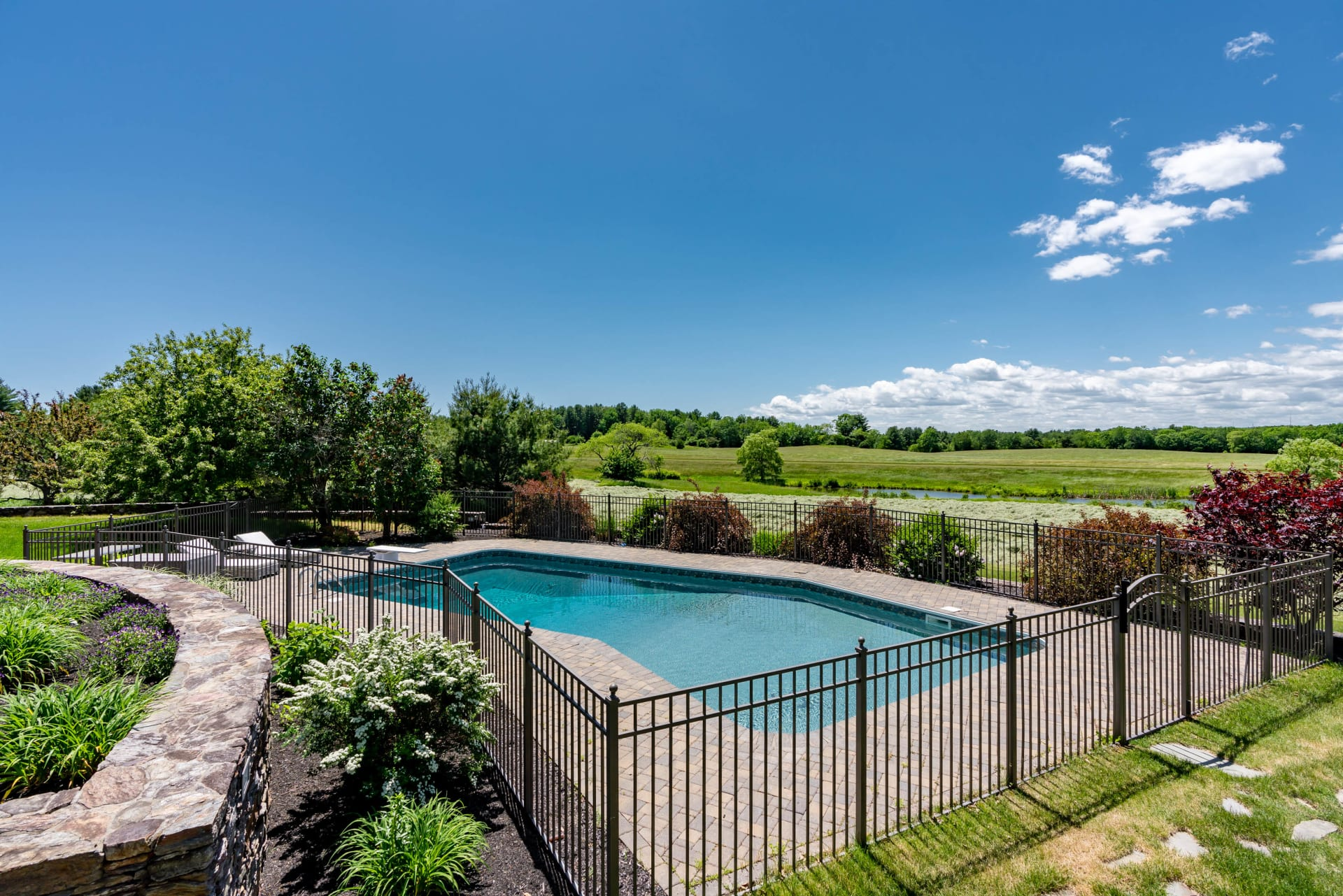 Iconic Falmouth Estate Overlooking Scenic Rolling Fields