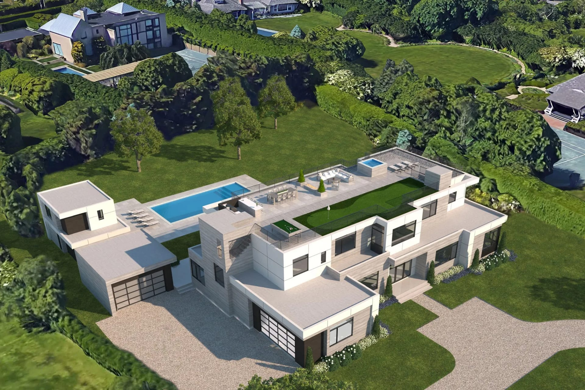 Incredible Modern New Construction by the Ocean