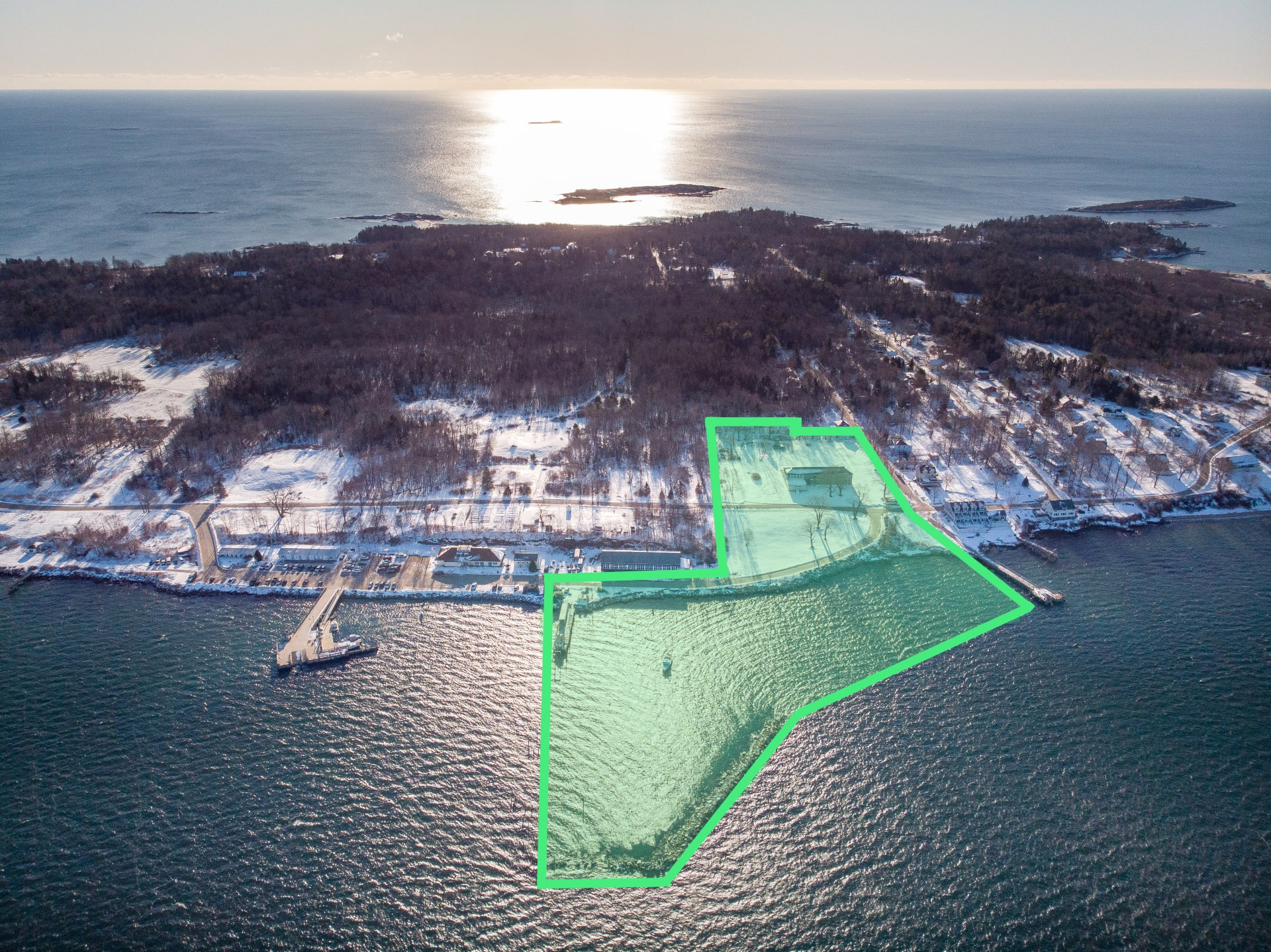 One-of-a-kind Opportunity in the Heart of Casco Bay