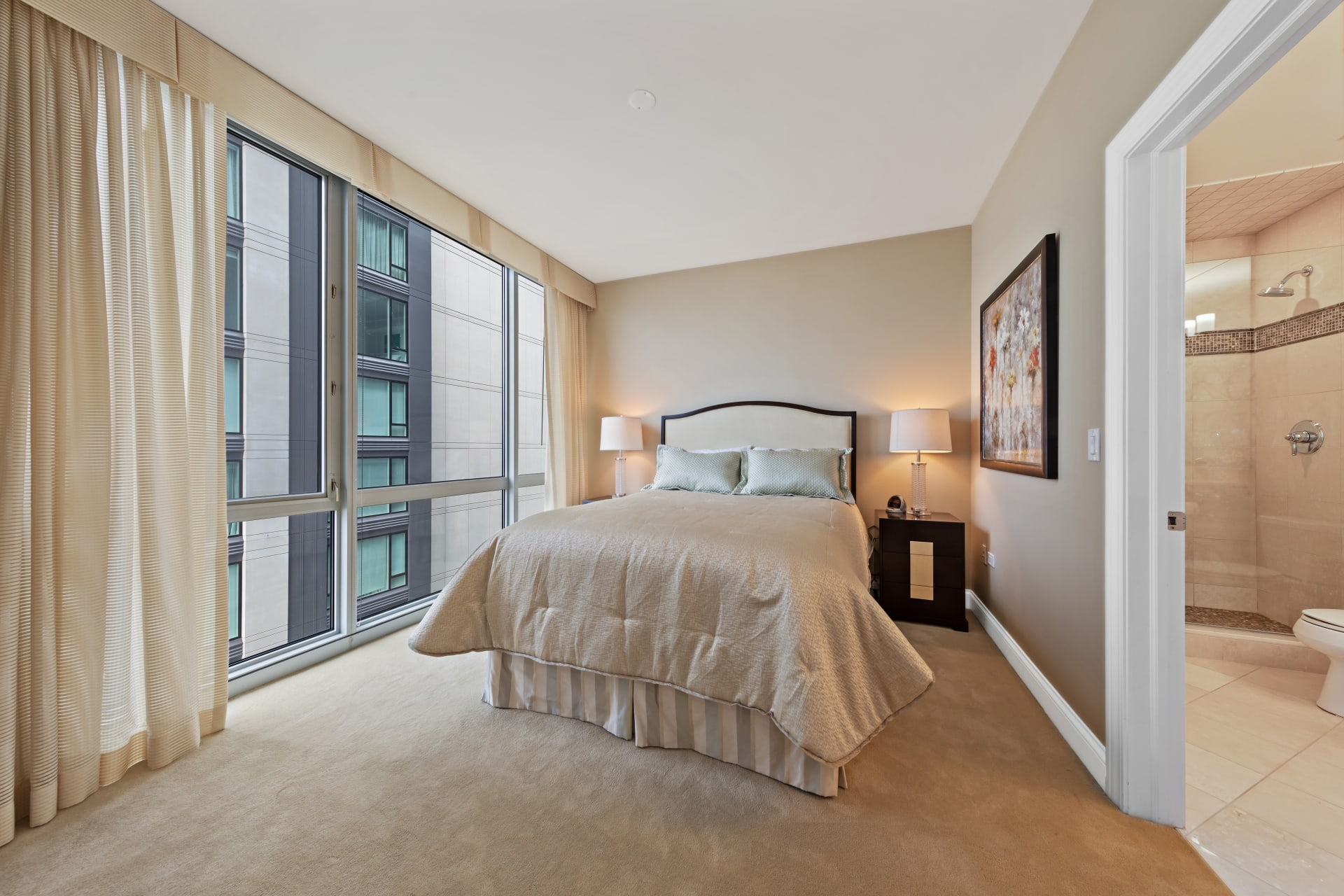 Stunning Northwest Corner Two Bedroom plus Den