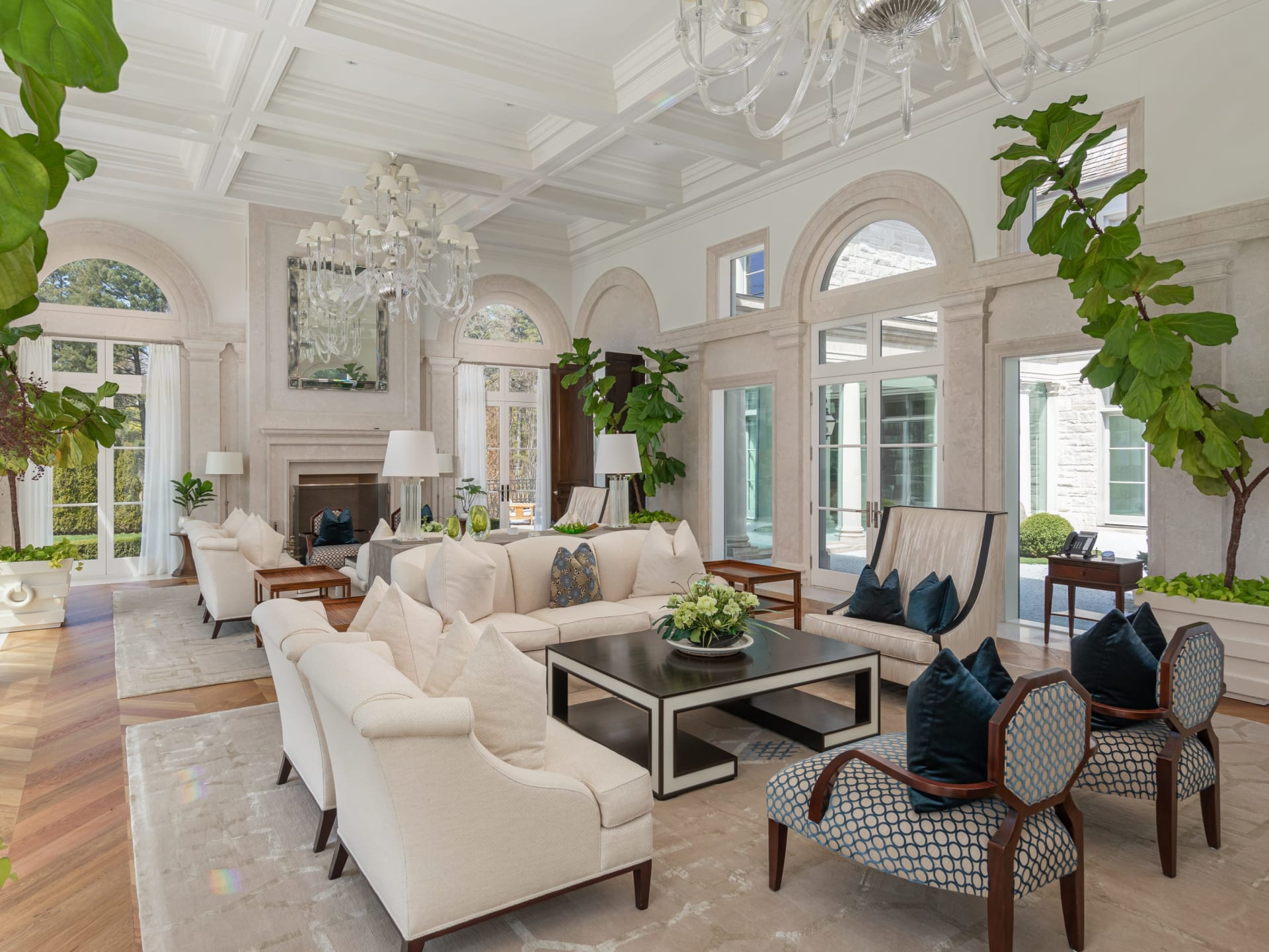 SOLD: Gated French Provincial Bridle Path Mansion