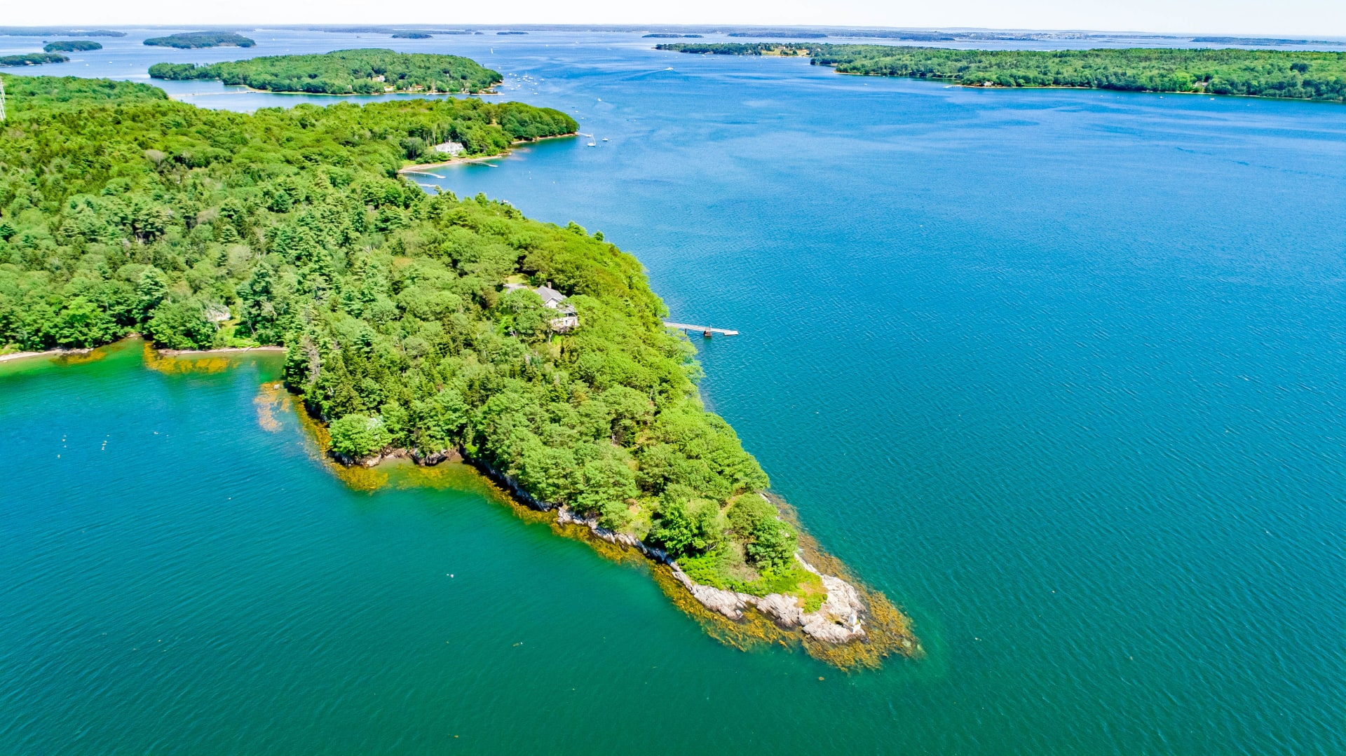 A Boater's Paradise on Casco Bay
