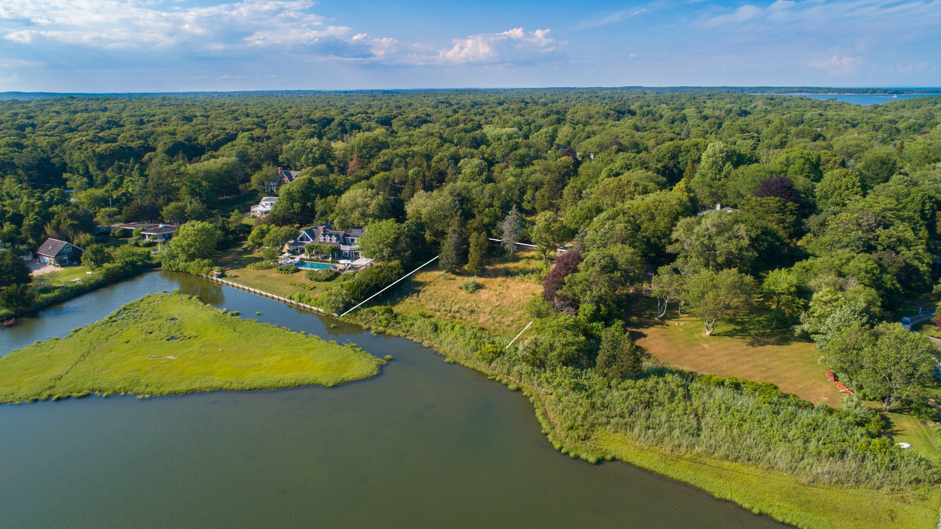 Remarkable Waterfront Pre-Construction Opportunity on Noyack Bay