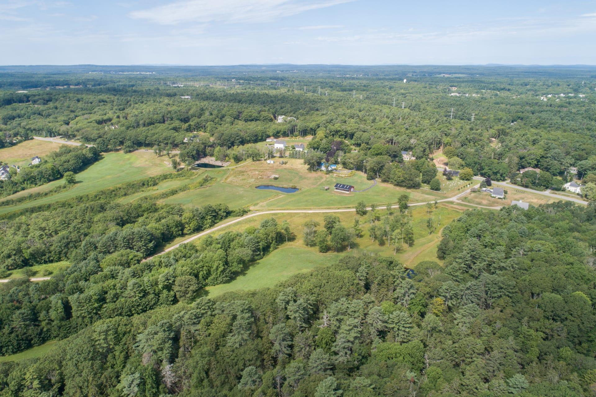 Stunning 5.53 Acre Lot in Yarmouth's Premier Subdivision