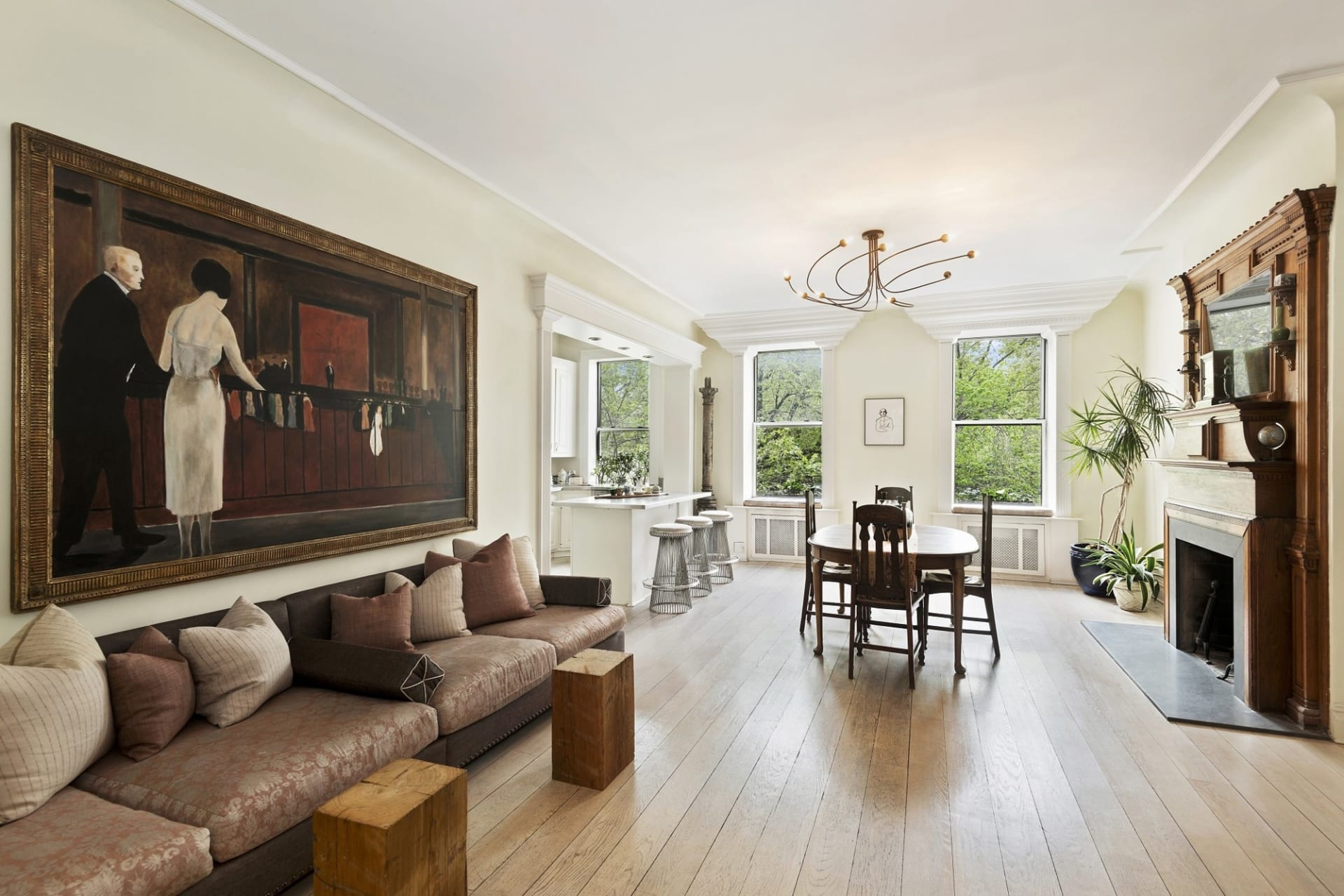 Alan Cumming Lists Charming East Village Co-op with Noble Black