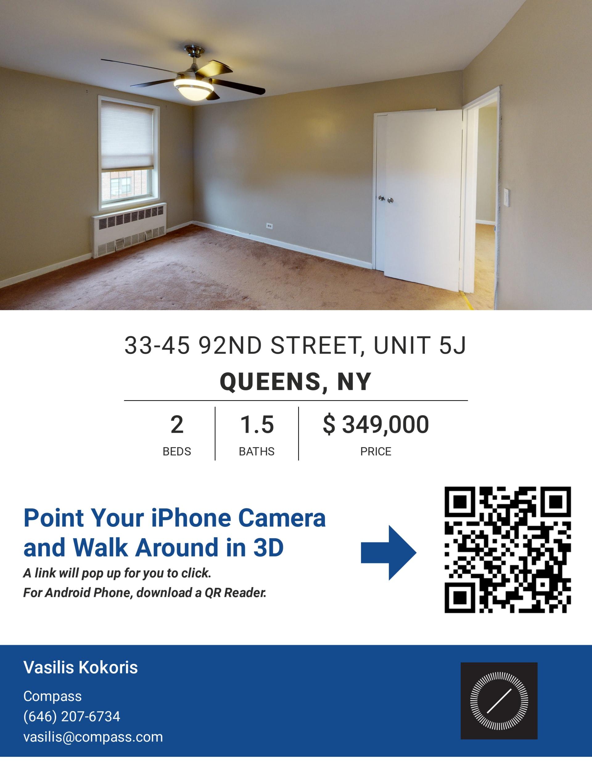 33-45 92nd Street Unit 5J photo