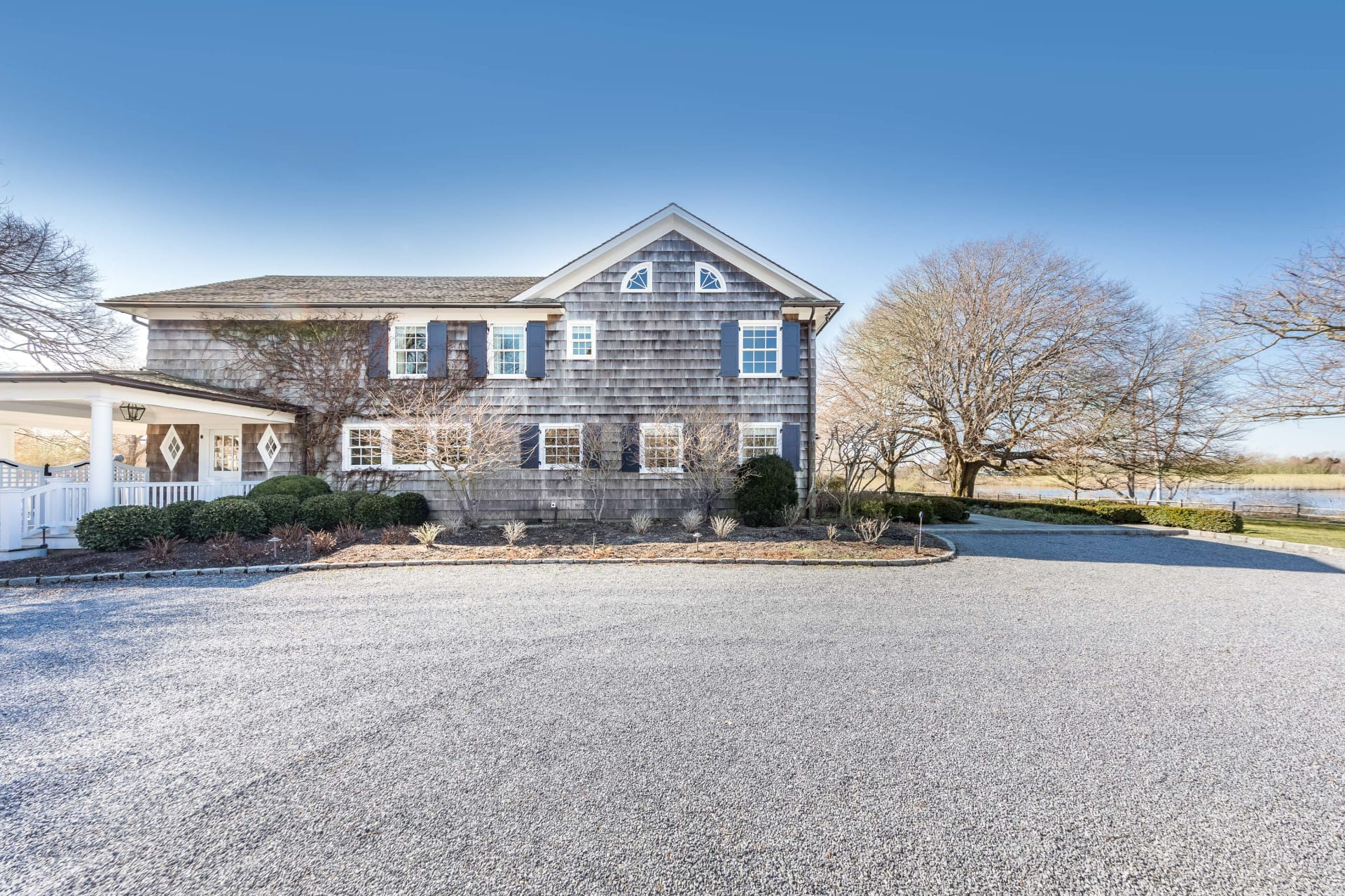Stunning Waterfront Estate in Water Mill South