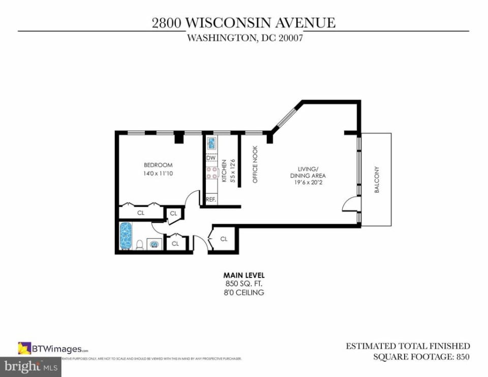 2800 Wisconsin Ave NW #503 preview