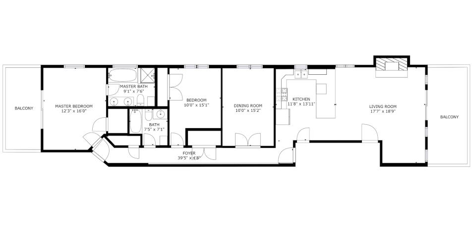 4711 N Malden St, Unit 3S preview