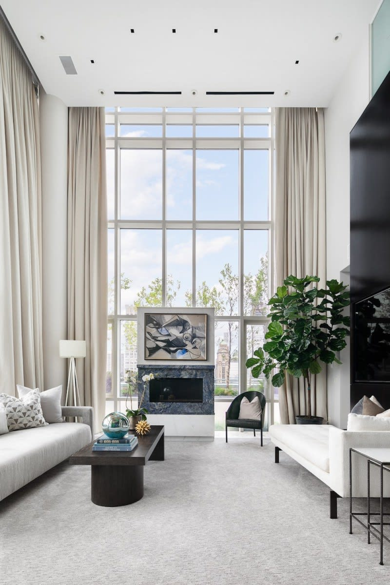 Stunning duplex penthouse at 325 fifth avenue comes to market